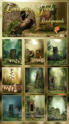 Enchanted Glade backgrounds by DIGI-3D
