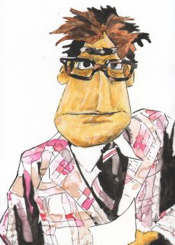 30 In 30 Muppet Newsman by monstercola