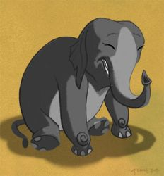 A Little Elephant Doodle by Cre8tivemarks