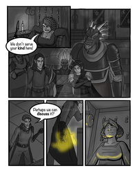 DND comic p1 by p47y
