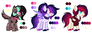 Random Ponies #4 (AUCTION) - CLOSED by V-minnie