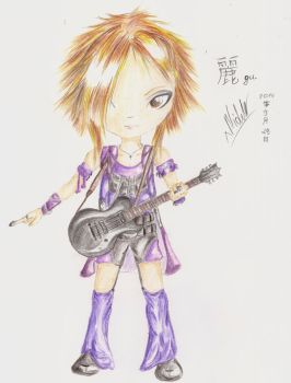 Chibi Uruha by xMidziak