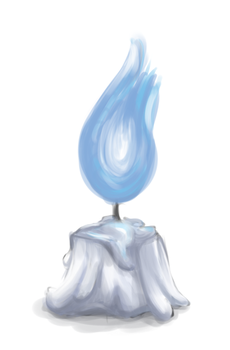 Blue Flame by Lovely-Words