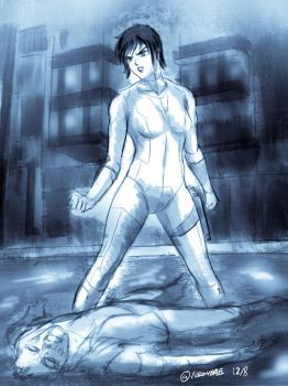 Ghost in the Shell (Coffee Draft) by neo-verse