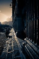 Pillars, Steps and Street. by SantiBilly