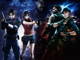 Resident evil wallpaper 3 by ethaclane