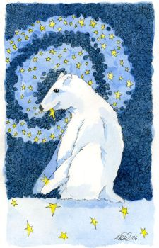 Bear Who Ate Too Many Stars 2006 by shadowgirl