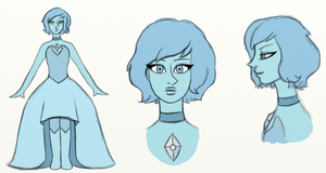 Blue Pearl gemswap by SmilingM00N