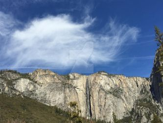 A Cloud to Match the Waterfall by Yosemite-Stories