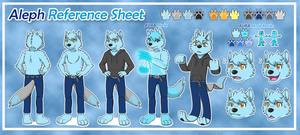 + Reference Sheet Commission - Aleph + by Cachomon