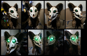 Thyef Head (DVC Skull Base) by CuriousCreatures