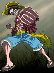 luffy Standing tall by ID9OP