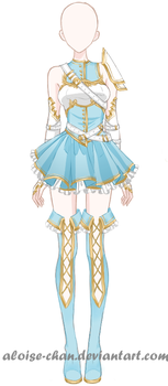 [SOLD] Savior Armour Adoptable by Aloise-chan