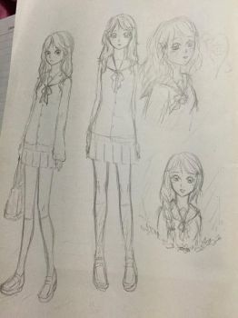 More sketching by cellesticca