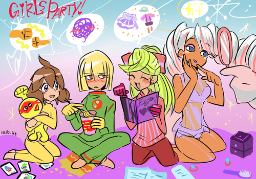 Girls party by EZstrongs