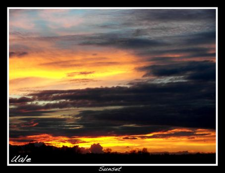 Sunset by Uale