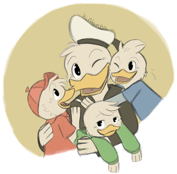 .DuckTales: His boys.+ by Kintanga