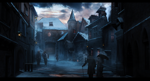 Cold Street by umbatman