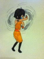Airbending Stance by mistwolf98