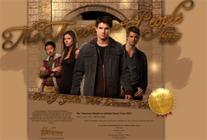 Layout #04 - The Tomorrow People n.01 by CleoFD