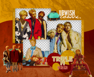 Triple H PNG PACK#1 by Upwishcolorssx