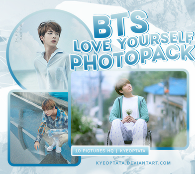 [PHOTOPACK 001] BTS LOVE_YOURSELF POSTER by kyeoptata