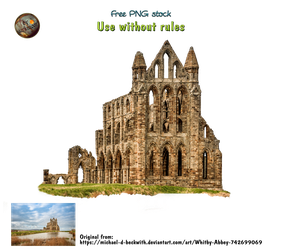 abbey ruin - png stock by darkmoon1968
