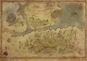 Gnome's Journal: A Kobold's Map by ogmacomic