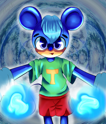 Blue Powers by Ini-Inayah