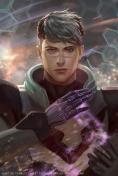 SHIRO_VOLTRON_FANART by andyliongart
