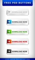 Free PSD buttons by Atef-Emran