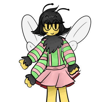 Honey the Bee 2.1 by CocoTherabbit101917