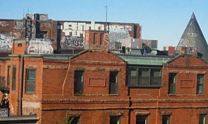 Rooftops by scixual