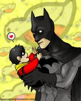 Baby Tim and Bruce by Dragonspaz