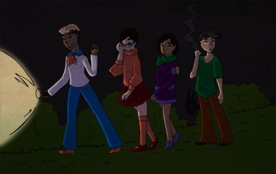 Cryptid Club (or Scared Straight or Queer Mystery) by JimmytheGothicEgg