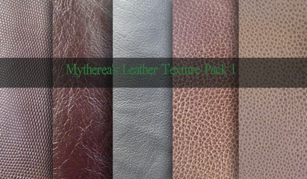 Leather Texture Pack 1 by Mytherea