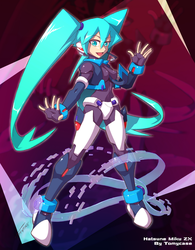 Hatsune Miku - ZX Style by Tomycase