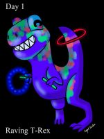 Raving T-Rex by SexxiMomma