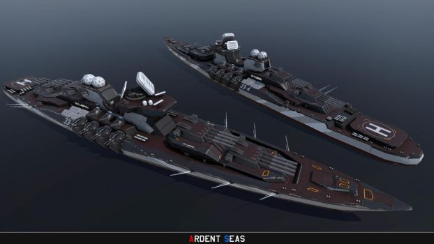 Type 33-4 class Dreadnought by Helge129