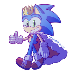 King Sonic by ArcticHibiscus