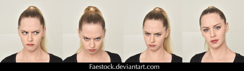 Expressions - Stock pack 4 by faestock