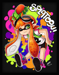 Splatoon - Inkling girl by SandraGH