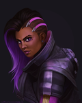 Overwatch: Sombra by ruthiebutt