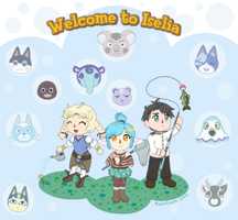 ACNL - Welcome to Iselia by Moontoon