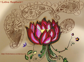 The Lotus Rapture in Color by LevitatingBuddha