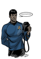 He is not Spock... by Joe-Singleton