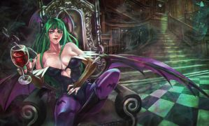Morrigan, by MonoriRogue by Antsstyle