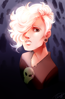 Pink Lars (Speedpaint in description) by Panic-Is-My-Rain