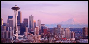 Seattle Cityscape by 32tsunami