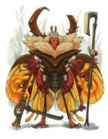 Insect warrior ago 2018 ver 02 by Onikaizer